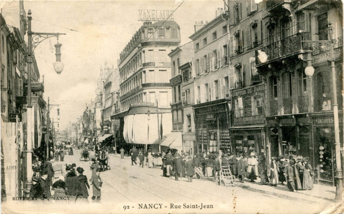 Nancy - Rue Saint-Jean