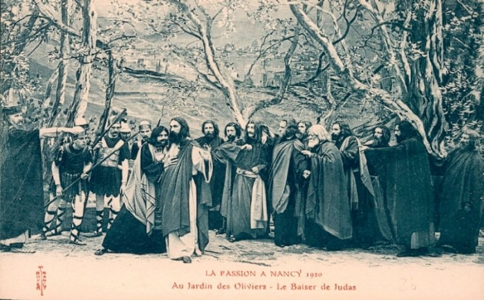 Au jardin des oliviers le baiser de judas bienvenue for Au jardin des oliviers