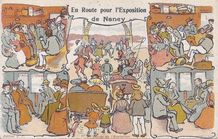 Nancy 1909 - L'Humour à l'Exposition