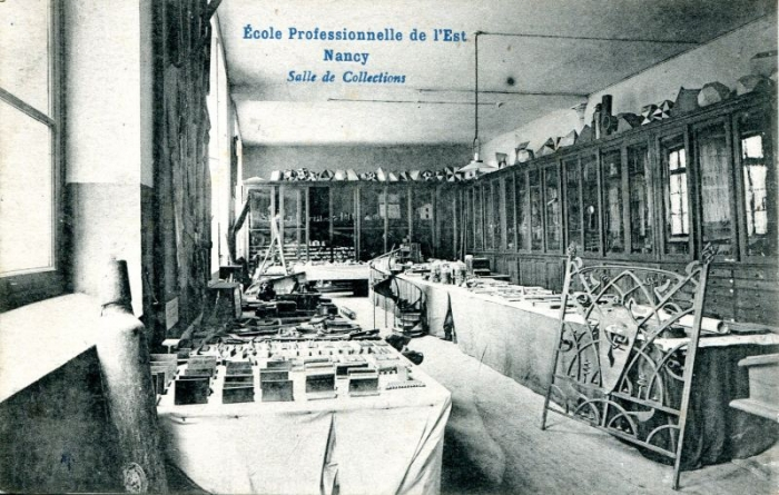Salle des collections