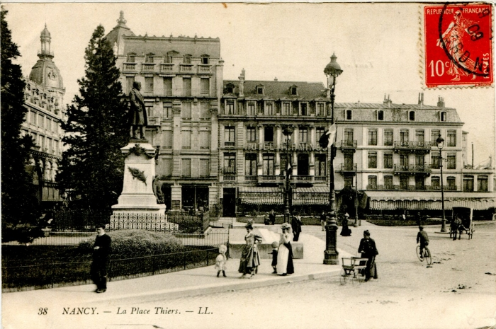 Nancy - Place Thiers