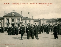 1910 - Course cycliste Nancy-Joeuf (17 avril)