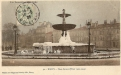 Place Carnot : fontaine (hiver 1904-5)