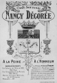 Nancy - 1919 - Décorations Militaires